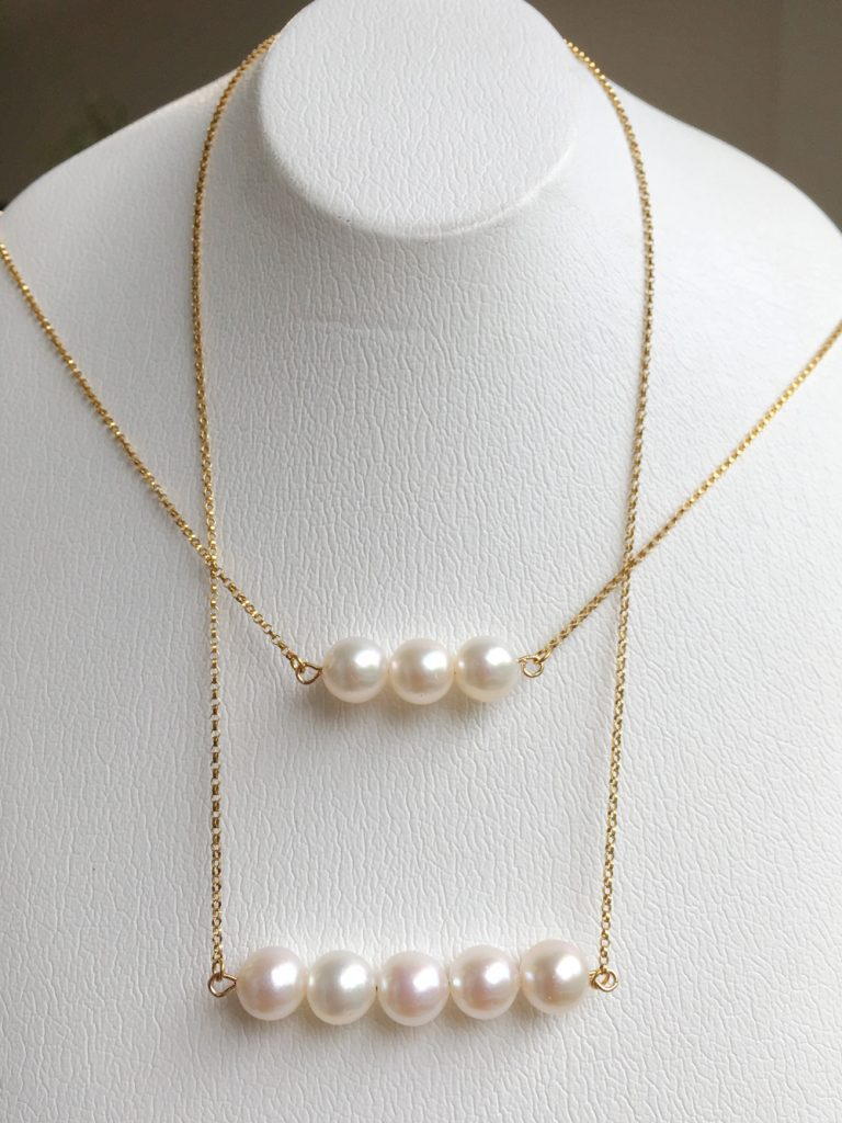 新商品 アコヤ真珠のネックレス